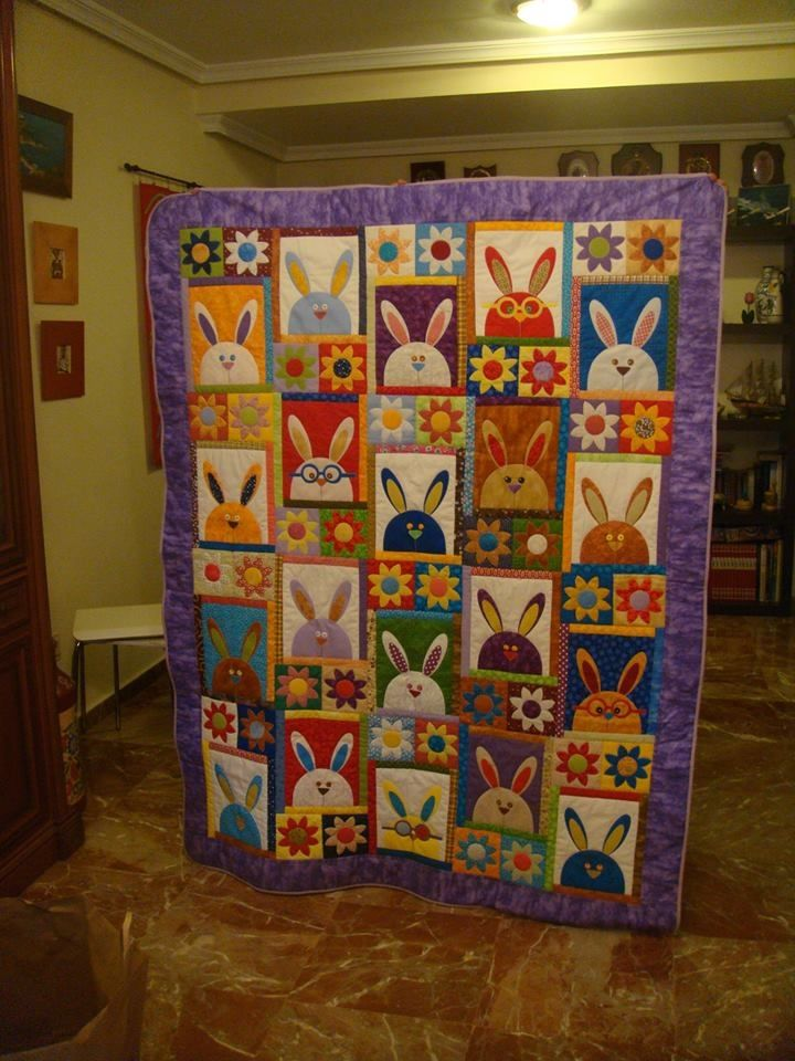 Bunny Easter Quilt