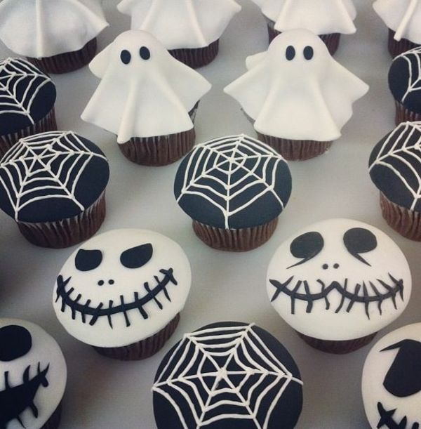 Grusel Muffins halloween cupcakes backen