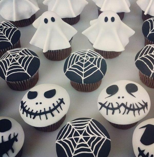 Grusel Muffins halloween cupcakes backen
