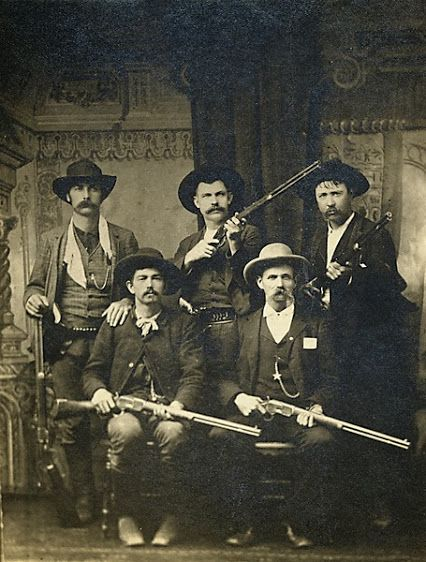 hese are some U.S. marshals who also worked the Indian Territory. After five years evading the law, the accused murderer of Deputy Daniel Maples, Ned Christie, met his maker when he was shot down by 16 posse members, including these marshals: Charles Copeland and Capt. G.S. White (front row, from left); Bill Smith, Bill Ellis and Paden Tolbert (back row). Out of more than 200 marshals who have been killed in the line of duty since President George Washington founded the U.S. marshals, more…