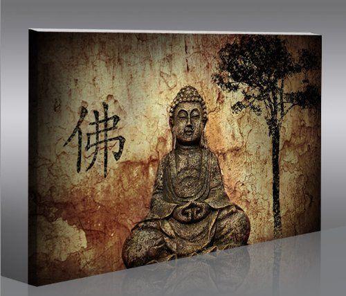 Buddha V10 100x65 Quadri moderni intelaiati - pronti da appendere ...