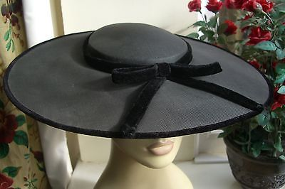 1950's True Vintage Large Plate Hat