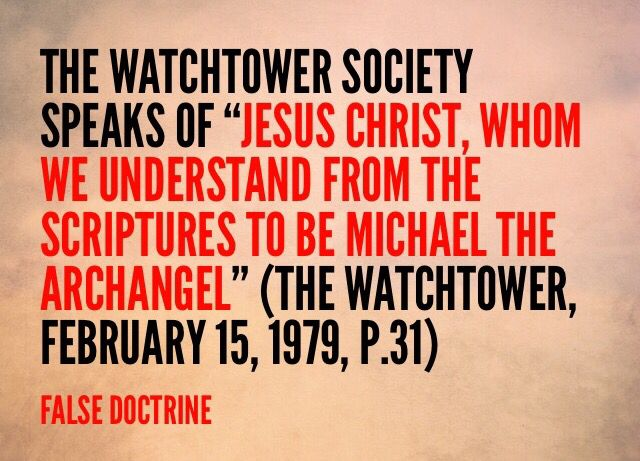 """""""The Watchtower Society New World Translation (NWT) mentions Michael five times as: 1) """"one of the foremost princes"""" (Daniel 10:13); 2) """"the prince of [Daniel's] people"""" (Daniel 10:21); 3) """"the great prince who is standing in behalf of the sons of [Daniel's] people"""" (Daniel 12:1); 4) """"the archangel"""" who """"had a difference with the devil and was disputing about Moses' body"""" but """"did not dare to bring a judgment against him in abusive terms"""" (Jude 9); and 5) a participant in heavenly conflict…"""