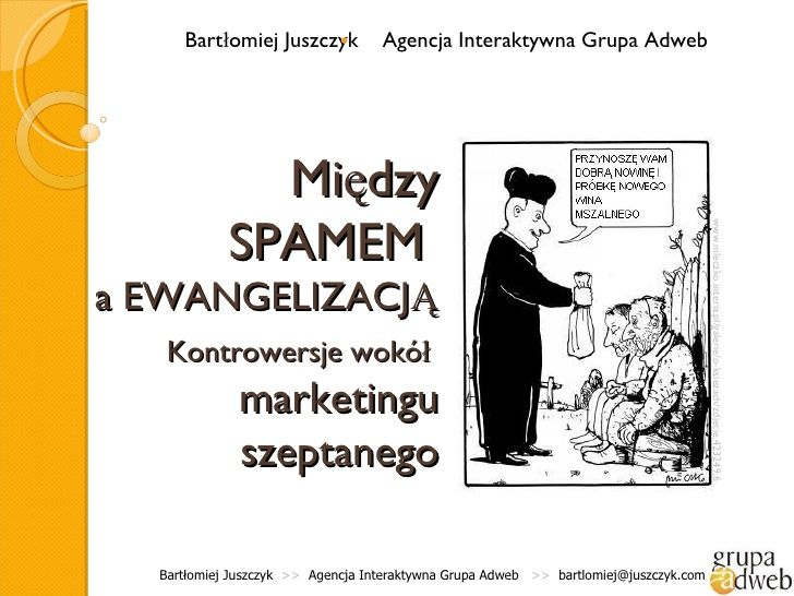 Marketing szeptany by Grupa Adweb via slideshare