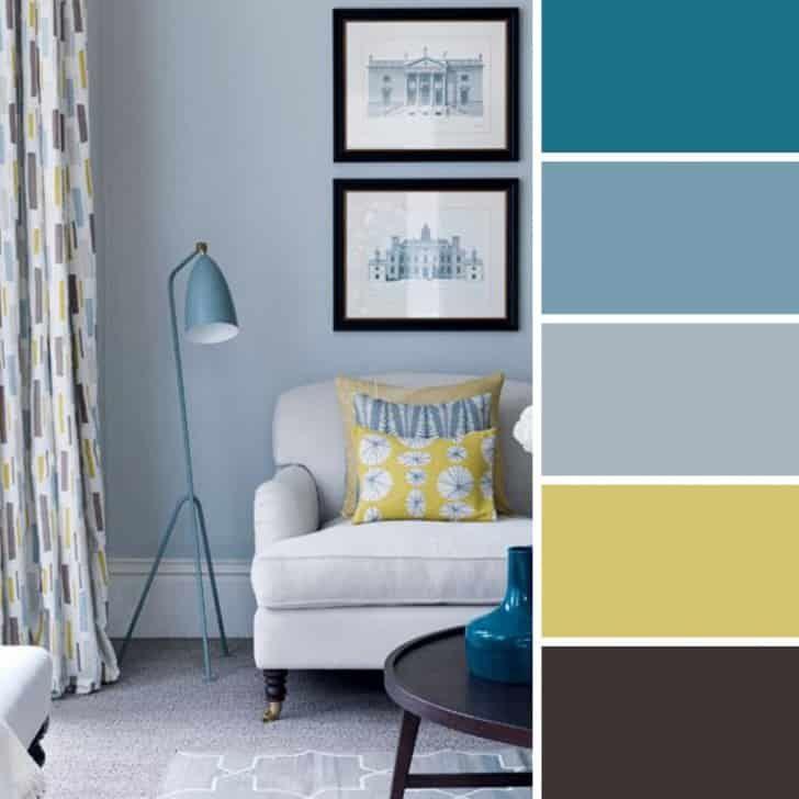 Living Azul Suave Con Imagenes Decoracion De Interiores Decoracion De Habitacion Azul Paletas De Colores Para Dormitorio