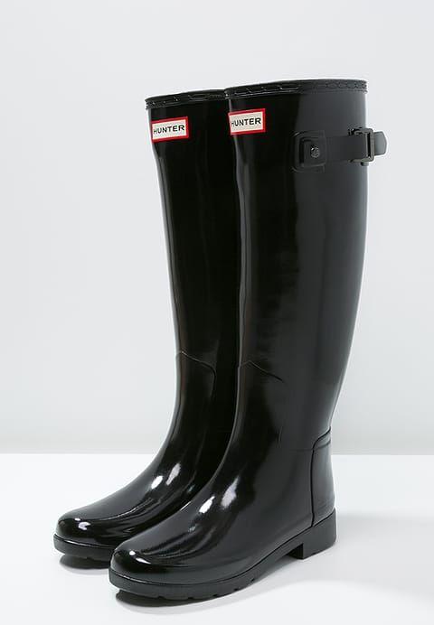 Luxe Hunter Bottes en caoutchouc - black noir: 145,00 € chez Zalando (au 29/12/16). Livraison et retours gratuits et service client gratuit au 0800 915 207.