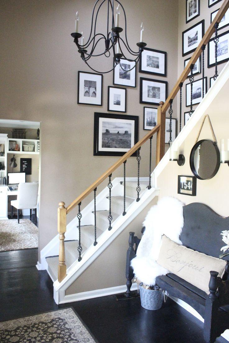 best 25 entryway decor ideas on pinterest. Black Bedroom Furniture Sets. Home Design Ideas