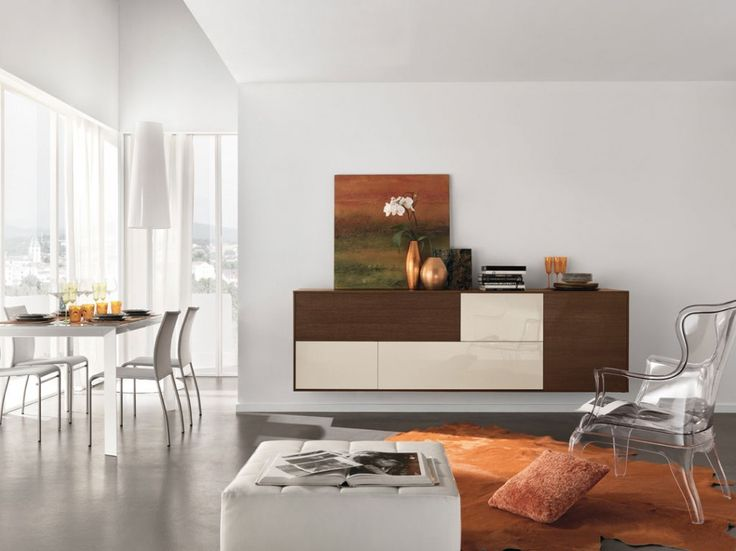 Buy Taranto Sideboard For Sale At Deko Exotic Home Accents. Taranto  Floating Sideboard With Clean Lines Exemplifies Exceptional Italian Design  Where Form ...