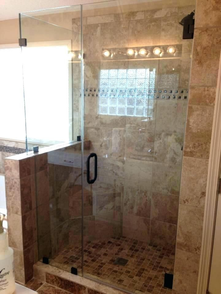 Half Wall Shower Glass Showers With Half Wall Half Wall Half Glass Shower Google Search Bathroom Ideas Half Wall Showe Half Wall Shower Half Walls Shower Doors