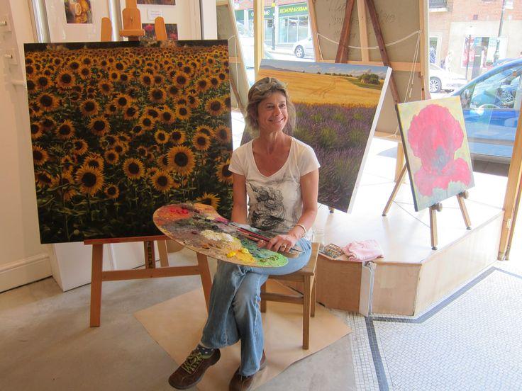 Caroline Zimmermann at Graham Fine Art - July 2014