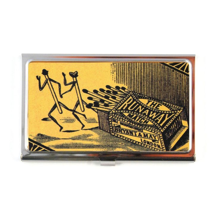 The Quirky. Runaway Match Business Card Case
