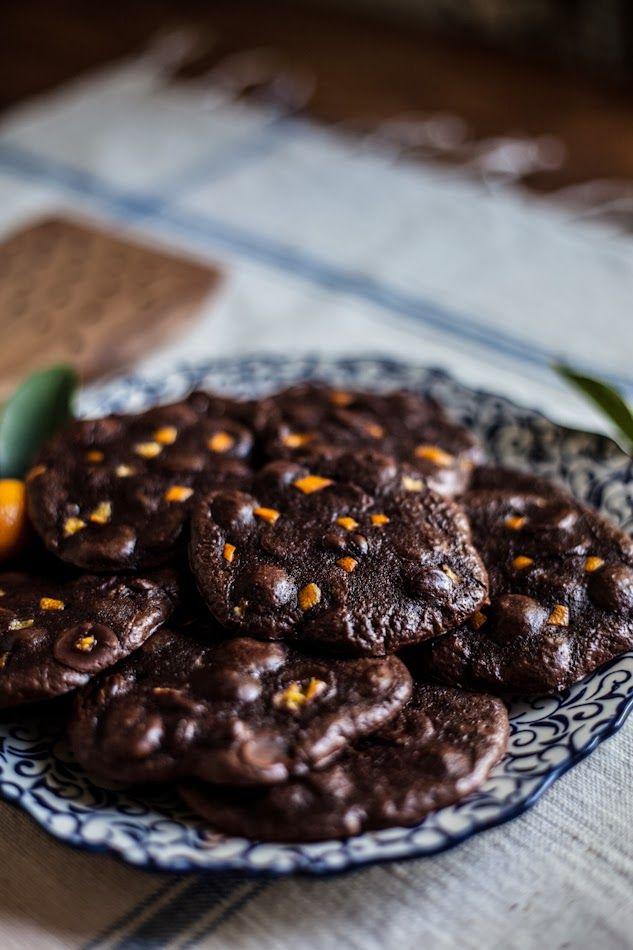 Adventures in Cooking: Flourless Chocolate Citrus Cookies