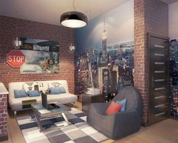 Die besten 25+ Tapeten jugendzimmer Ideen auf Pinterest Tapeten - tapeten ideen fr schlafzimmer