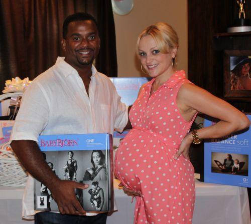 Angela & Alfonso Ribeiro Celebrate Baby Shower