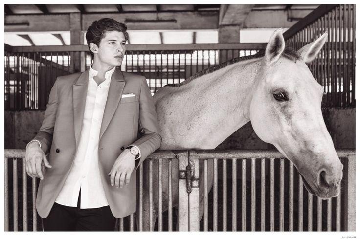 Dennis Verbaas & Spencer Burhoe Visit the Singapore Polo Club for Billionaire image Billionaire Mens Equestrian Styles 008