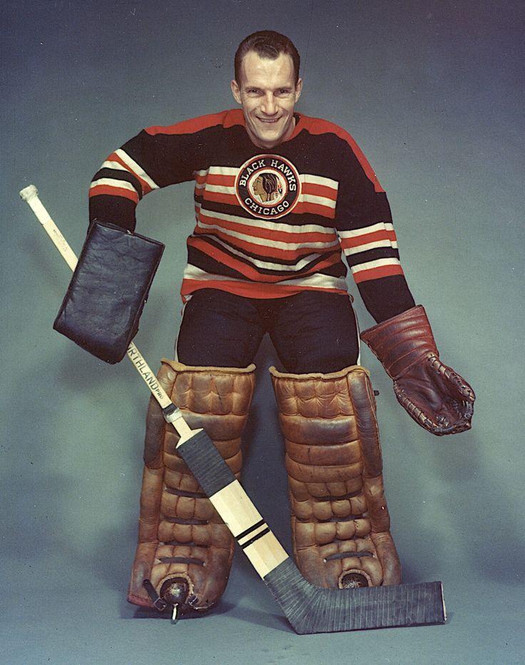 Al Rollins, Chicago Black Hawks goaltender
