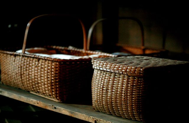 lovely old baskets