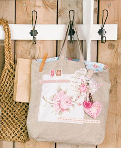 .cute idea to use with junk bag pattern