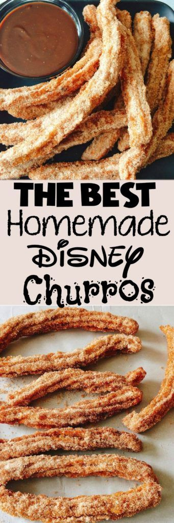 The Best Homemade Disney Churros Recipe is an easy way to make and enjoy Disneyland or Disney World Churros at home! Also how to make Lightsaber Churros!