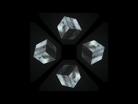 Cube - Pyramid Hologram Screen Up - YouTube