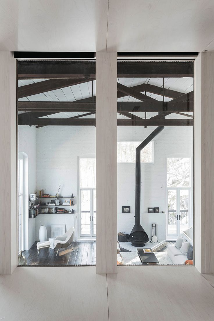 19th Century Drawing Room: A 19th Century Masonry Foundry Turned Into A Private