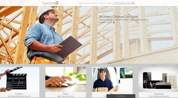 Our review for the Control4 website.