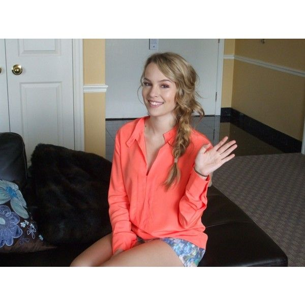 EXCLUSIVE Interview with Bridgit Mendler The Magazine ❤ liked on Polyvore