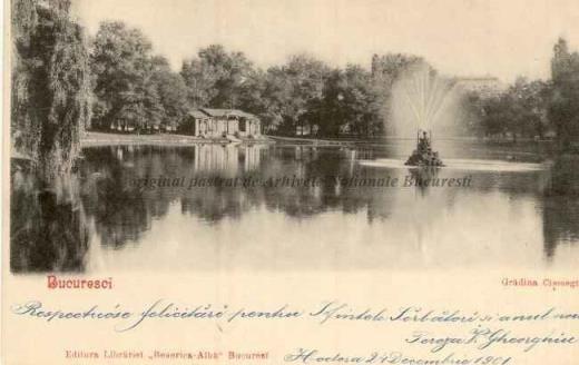 BU-F-01073-5-00238-2 Bucureşti, grădina Cişmigiu, -1901 (niv.Document)