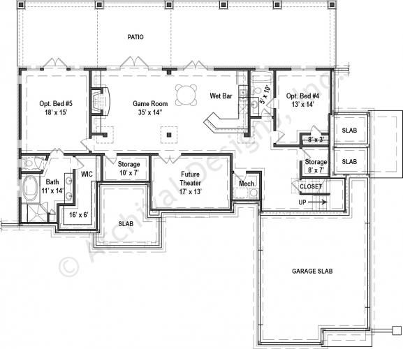 20 best house plans country stone images on pinterest for Empty nester house plans with basement