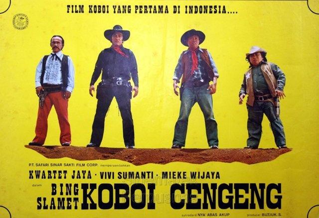 film koboi pertama di indonesia