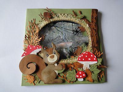 Hallo allemaal,     Vandaag op de valreep een herfst shake kaartje.   Die was niet makkelijk te maken.   Het achtergrondje is een foto die ...
