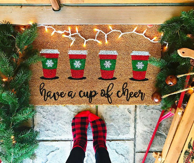 Best 25+ Christmas Doormat Ideas On Pinterest