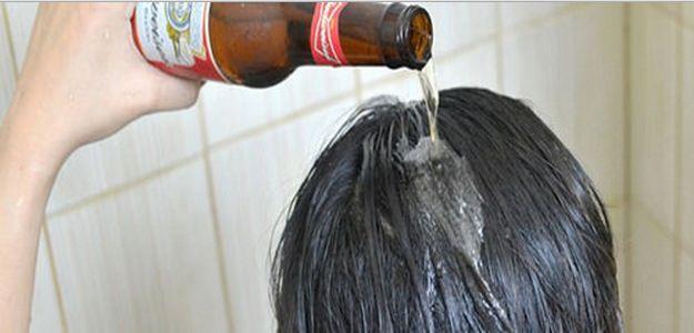 para que sirve la cerveza en el cabello