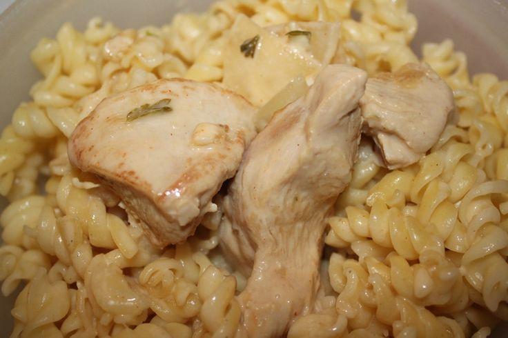 aiguillette de poulet a la moutarde au cookeo