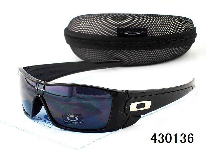 Wholesale Replica Oakley Anti-UVB Elegant Black Purple Oval Face Sunglasses#Oakley Sunglasses