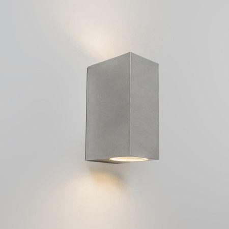 Wandlamp Baleno II RvS - Buitenverlichting - Lampenlicht.be
