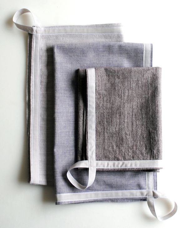 Simple Dishtowels (the purl bee)