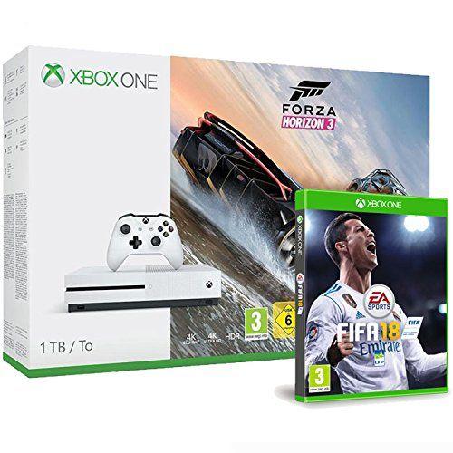 ICYMI: Pack Console Xbox One S: Xbox One S 1 To Le jeu Forza Horizon 3 (version digitale) Le jeu FIFA 18 Cet article Pack Console Xbox One…