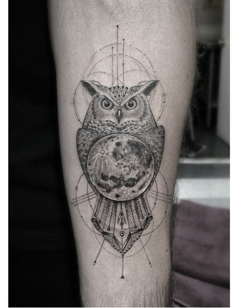 17 best images about owl and moon tattoos on pinterest for Dr woo tattoo price