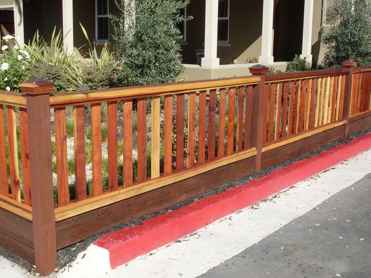 Redwood Picket Fence Google Search Tamarack