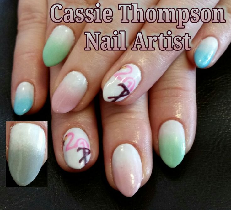 528 best 1 cassie thompson nail artist of vancouver wa images on 2017 nye flamingo gel mani by cassie thompson nail artist of vancouver wa follow me on prinsesfo Image collections