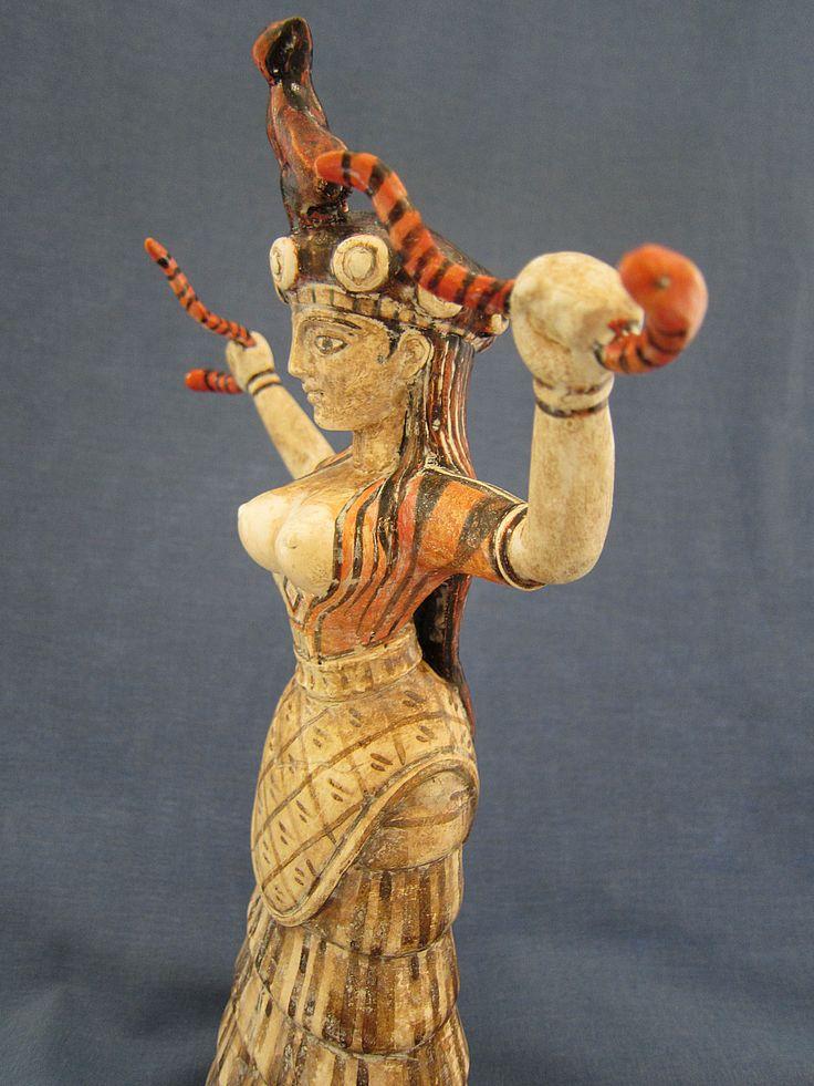 Goddess of Minoan civilization
