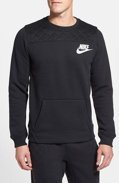 Nike 'FB' Fleece Crewneck Sweatshirt available at #Nordstrom