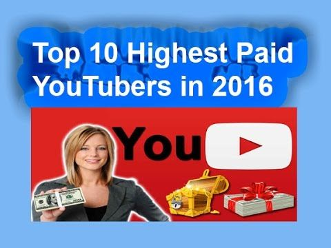Top 10 Highest Paid YouTubers in 2016 ll TOP 10  10. Hank Green: Net Worth – $2 Million 9. (tie) Lily Singh: Net Worth – $2.5 Million 8. (Tie) Rosanna Pansino: Net Worth $2.5 Million 7. Jenna Marbles: Net Worth $2.9 Million 6. Roman Atwood – Net Worth $4.5 Million 5. Grace Helbig: Net Worth $5 Million 4. Markiplier: Net Worth $5.1 Million 3. Smosh: Net Worth – $11.8 Million 2. Pewdiepie: Net Worth- $18 Million 1. Michelle Phan: Net Worth – $50 million
