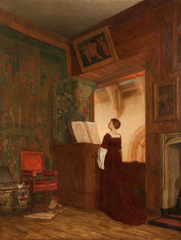 Women Reading - simena: Ellen Clacy. #reading #books