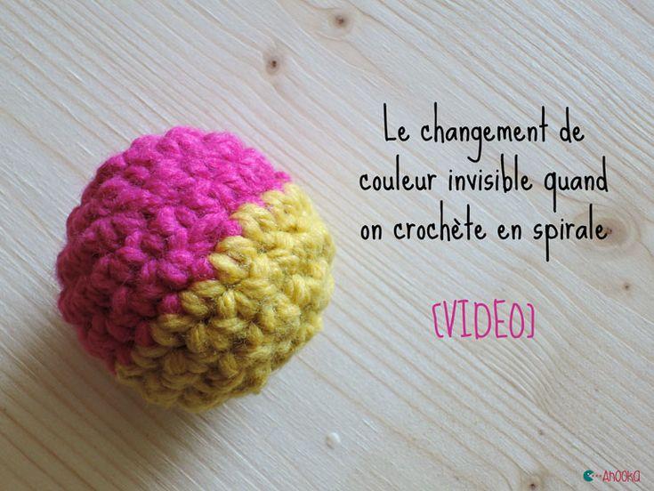 1000 id es sur le th me tricotin rond sur pinterest tricotin tricotin long et point de riz - Changer de couleur tricot ...