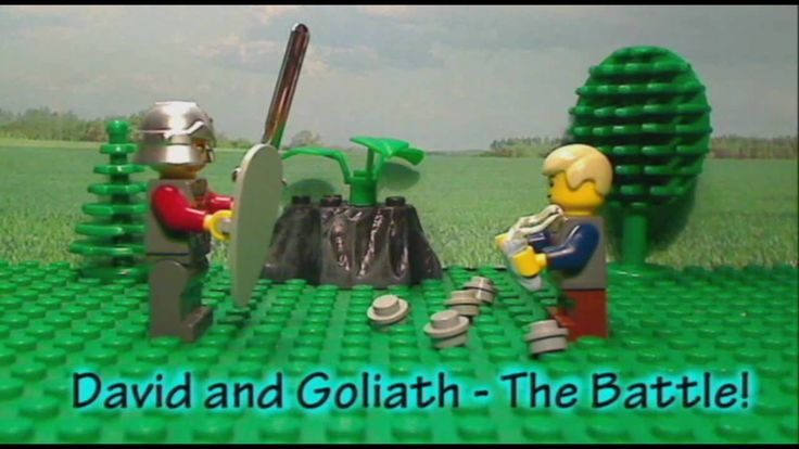 Lego Bible Story: David and Goliath