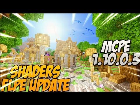SHADERS MCPE 1 10 0 3 PACK REALISTA LEVE TEXTURE PACK