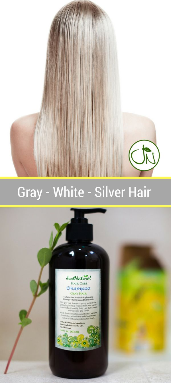 This gray hair shampoo gently removes the yellowing buildup residue from your hair to reveal radiant healthy fuller hair that is more manageable and softer.