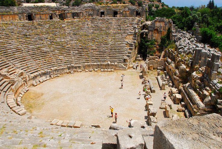 Roman amphitheatre - Myra, Antalya
